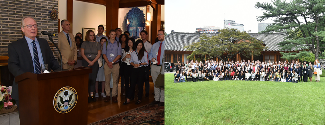 Welcome Fulbright English Teaching Assistants to Korea!