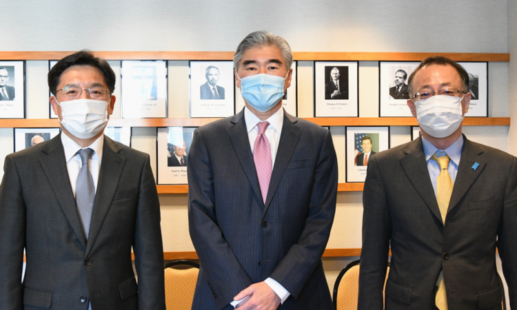 pecial Representative for the DPRK Kim's Trilateral Meeting with ROK Special Representative Noh and Japanese Director General Funakoshi