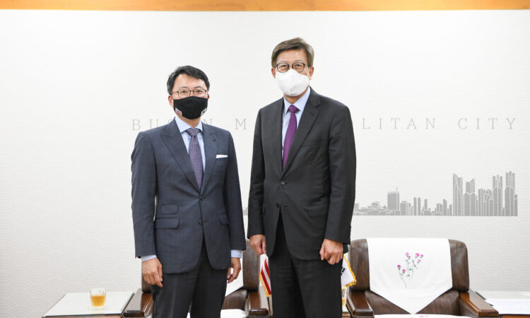 Courtesy Call on Busan Mayor