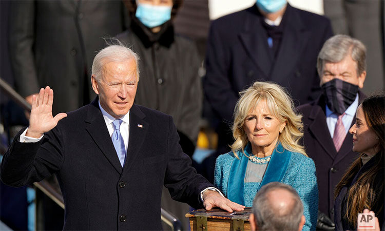 Inaugural Address by President Joseph R. Biden, Jr. (AP Photo)