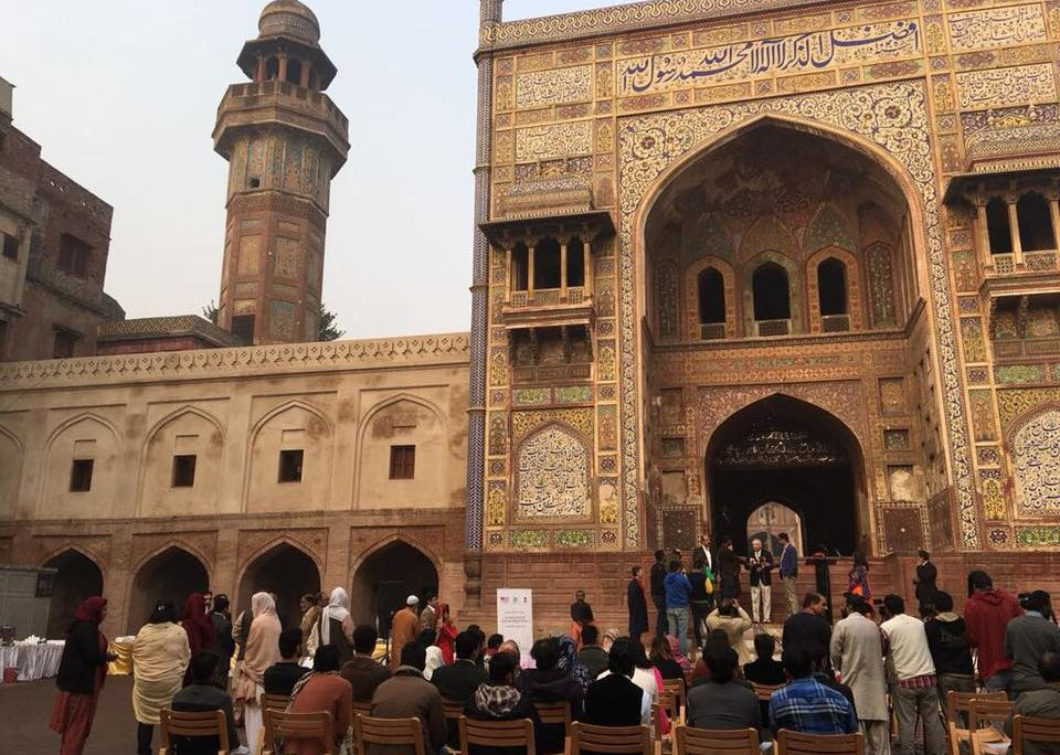 U S  Consul General Lahore inaugurates the Wazir Khan Mosque Chowk