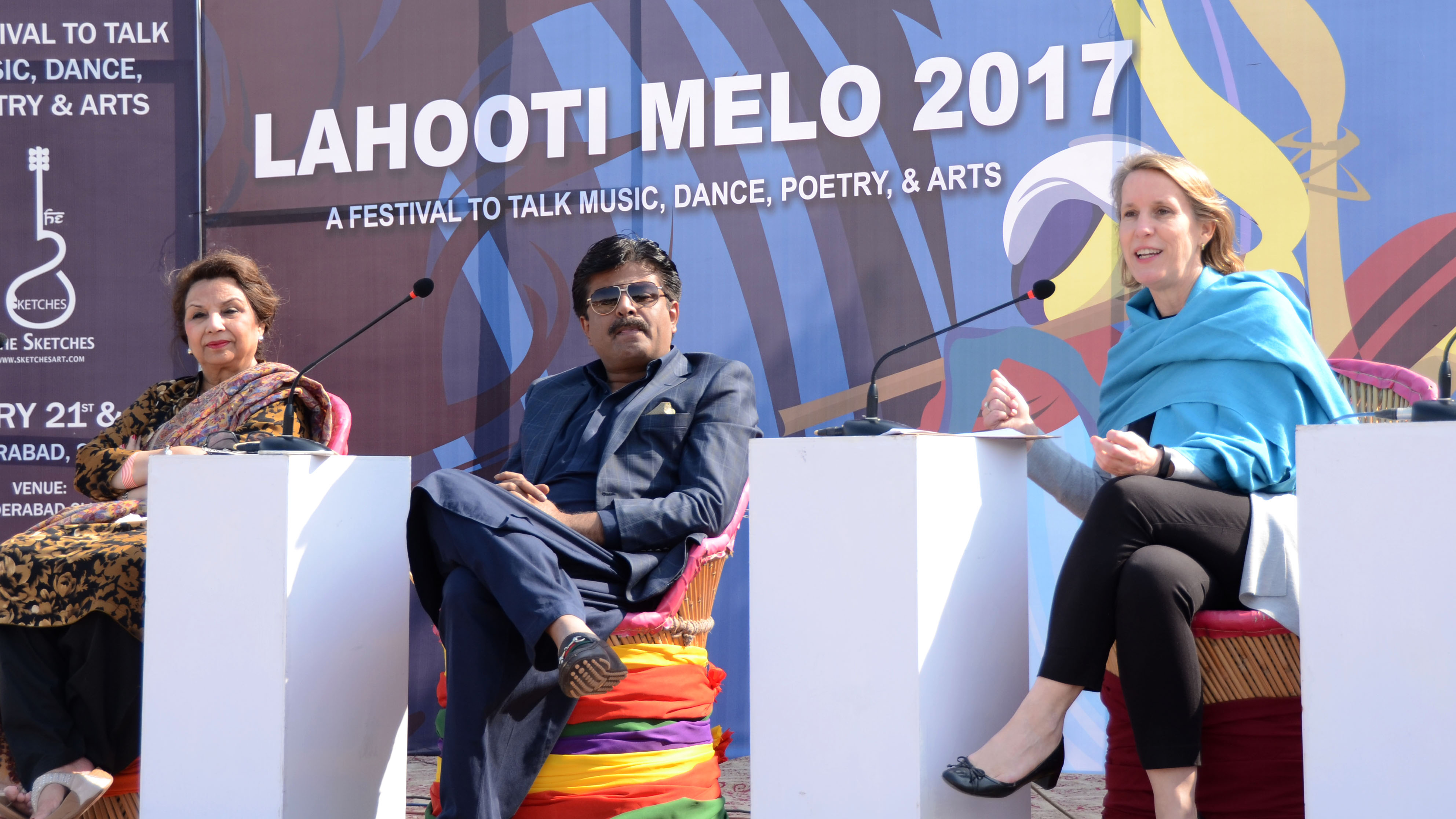 US Consul General Inaugurates Lahooti Melo in Hyderabad