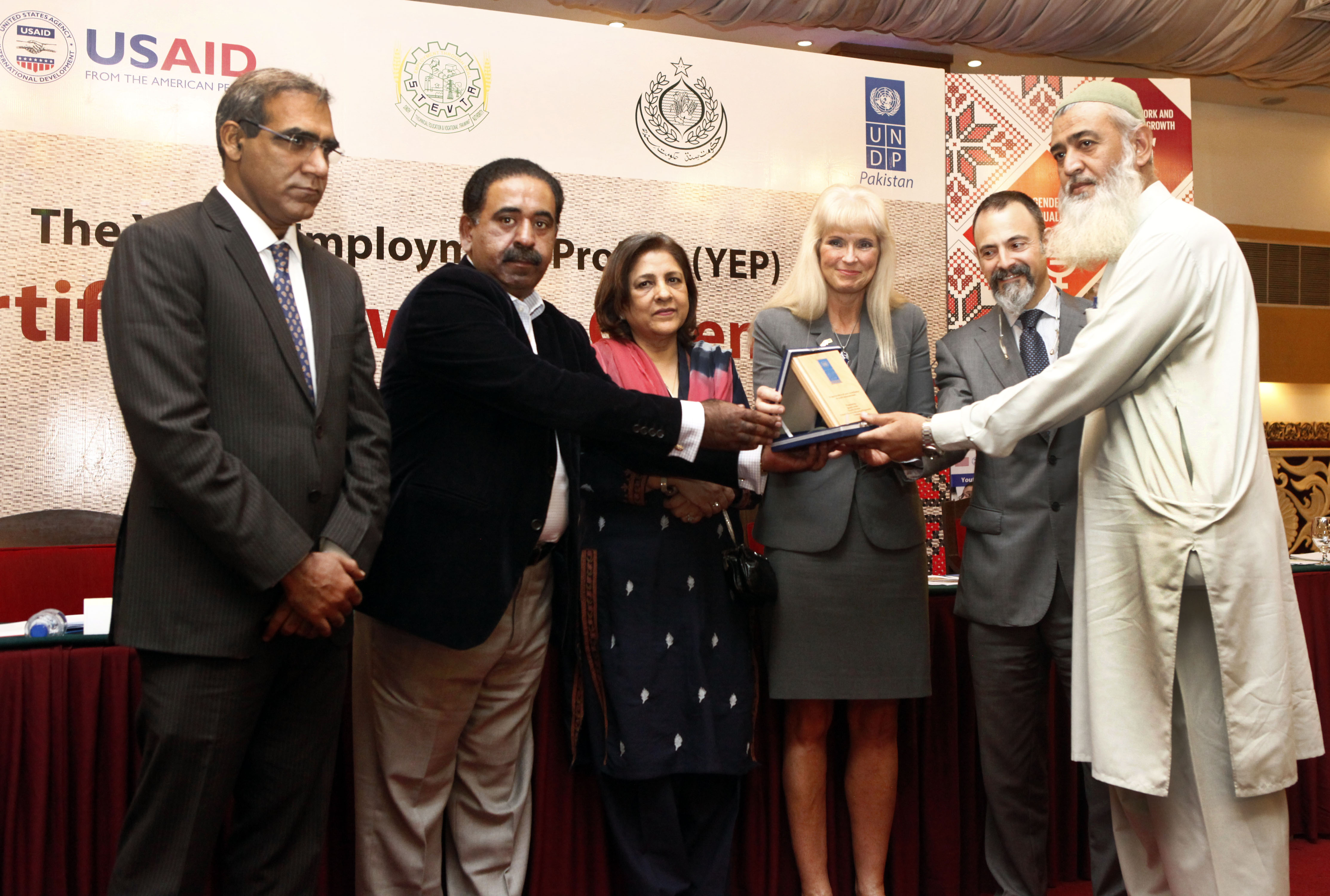 USAID and UNDP Partner Up to Provide Employment Training to