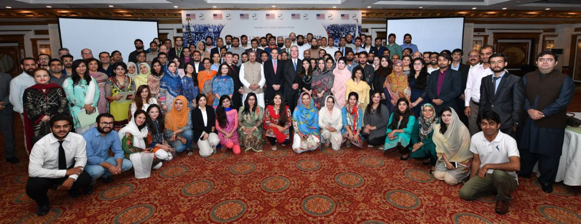 The newest members of #PAKUS #Alumni with Ambassador Jones, Chargé d'Affaires a.i