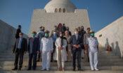 U.S. Chargé d'affaires a.i. Angela Aggeler Pays Homage to Quaid-e-Azam Muhammad Ali Jinnah