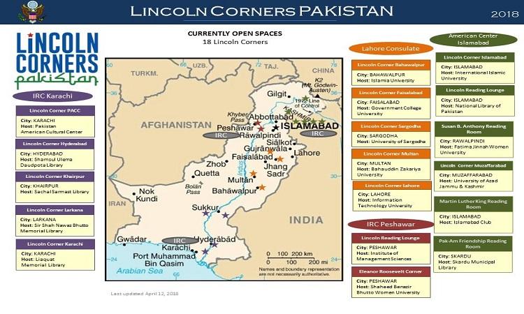Lincoln Corners Pakistan | U S  Embassy & Consulates in Pakistan