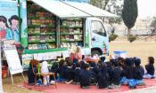 Listening stories through and Mobile Bus as reading resource