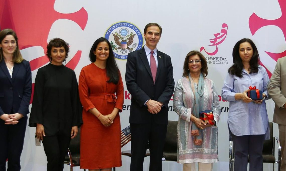 U S  Ambassador's Visit to Karachi Highlights Pakistani-U S