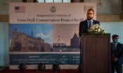 U.S. Consulate Karachi, KMC, and Seas Launch Frere Hall Conservation Project