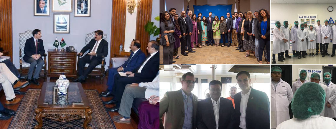 Ambassador Jones recently visited Sindh and Karachi