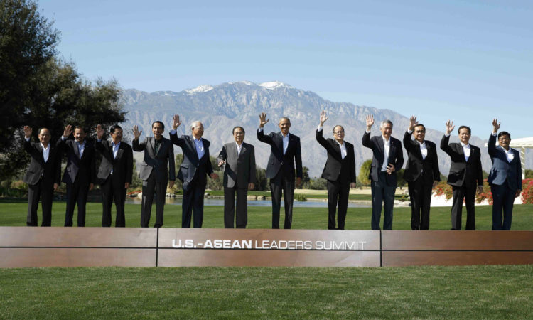 US-ASEAN family photo at U.S. - ASEAN Summit in Sunnylands