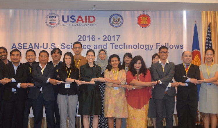 ASEAN - U.S. S&T Fellows 2016-2017