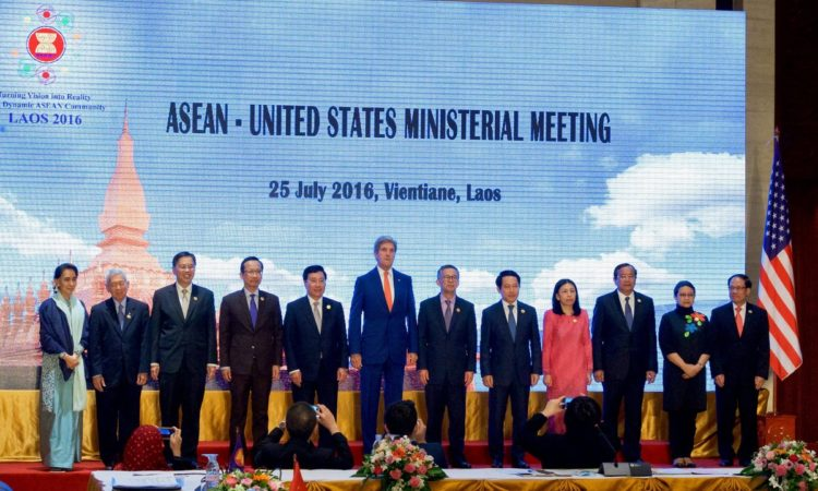 Secretary John Kerry at the ASEAN Ministerial Meeting, July 25th 2016