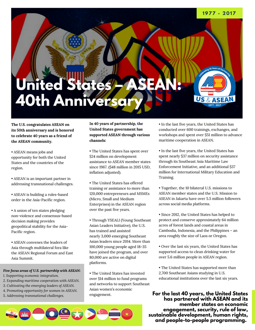 1 | U S  Mission to ASEAN