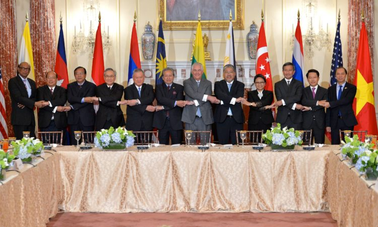 Secretary Tillerson hosted the Foreign Ministers of ASEAN in Washington, D.C.