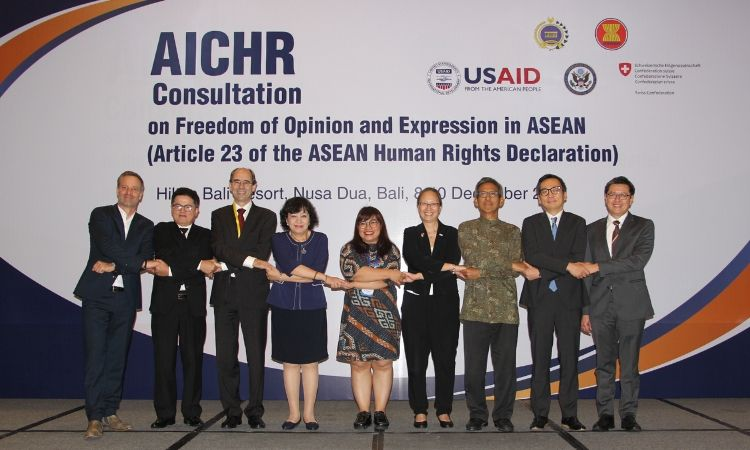 ASEAN Intergovernmental Commission on Human Rights Consultation on Freedom of Opinion and Expression in ASEAN