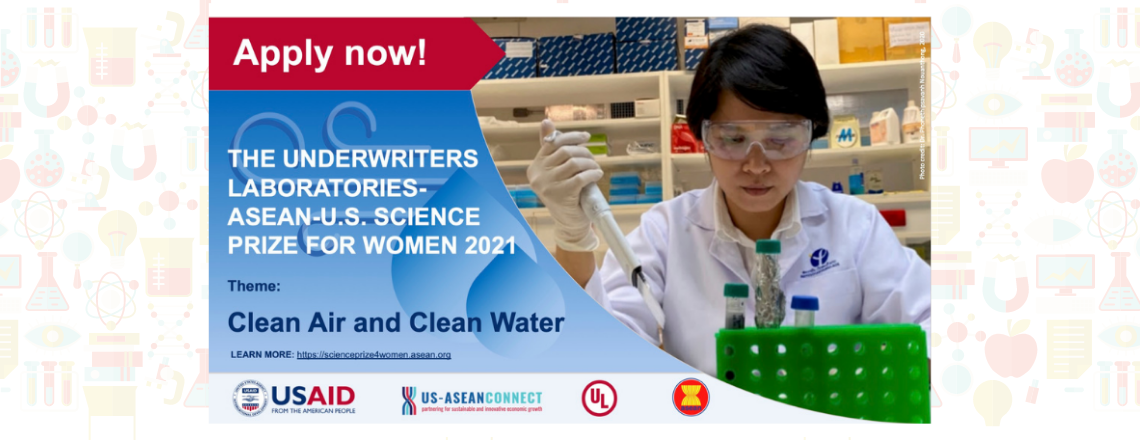 ASEAN-U.S. Science Prize for Women 2021