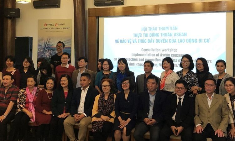 Consultation Workshop on the Implementation of ASEAN Consensus on the Protection and Promotion of the Rights of Migrant Workers