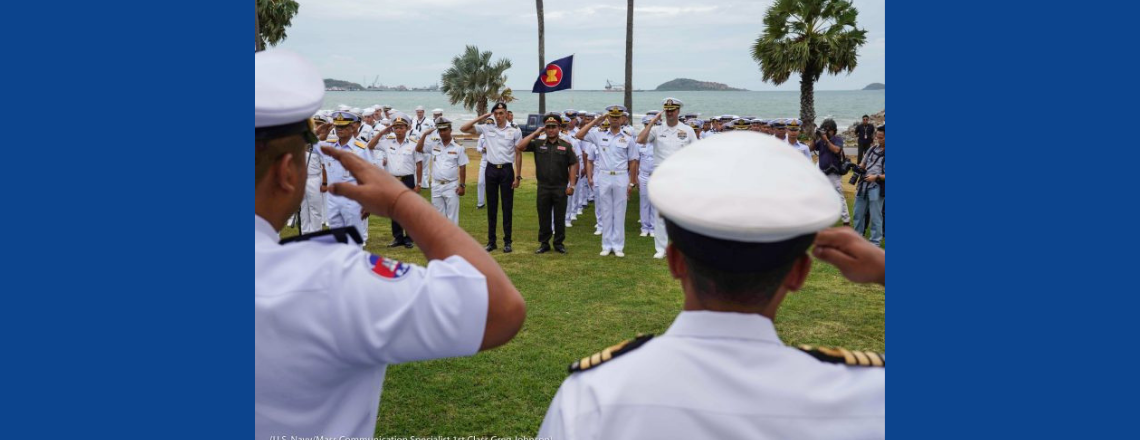 The United States and ASEAN join forces in historic exercise