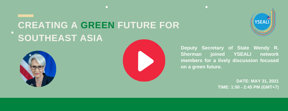 Creating a Green Future for Southeast Asia