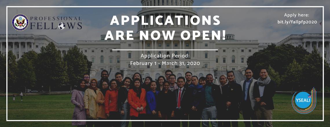 YSEALI Fall 2020 Professional Fellowship Program
