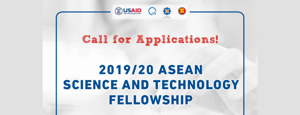 The 5th Annual ASEAN Science and Technology Fellowship Program