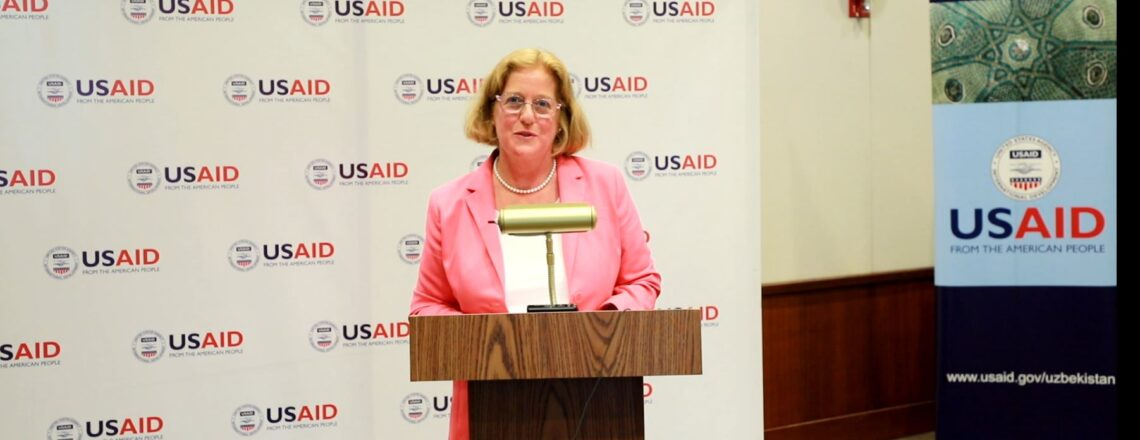 First USAID Mission Director Arrives in Uzbekistan