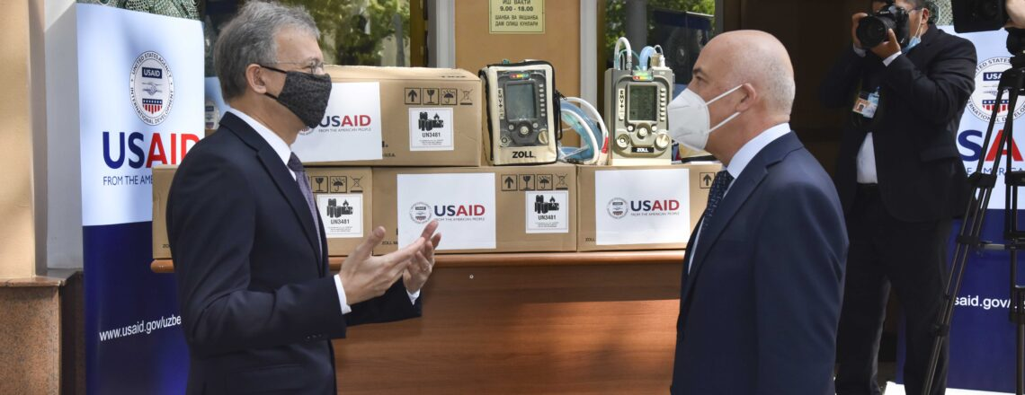 U.S. Provides Ventilators to Help Uzbekistan Battle COVID-19