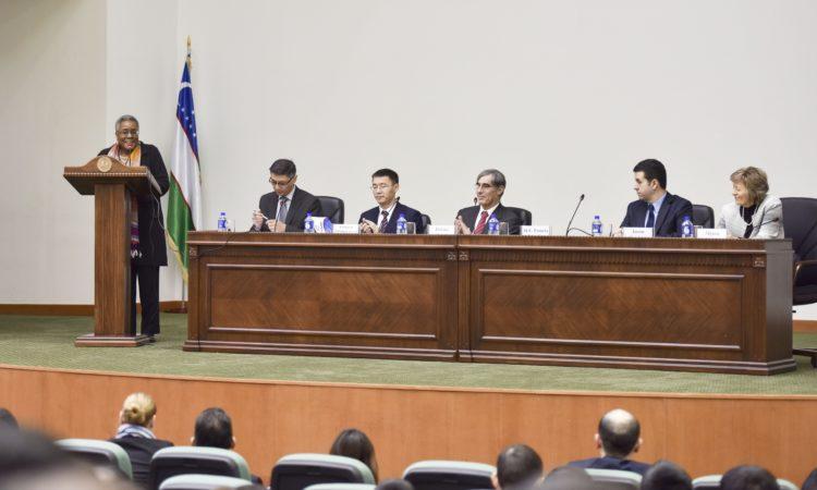 Ambassador Pamela L. Spratlen's Welcome Remarks at the Tashkent State University of Law