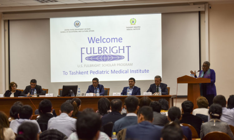 Remarks of Ambassador Pamela L. Spratlen at Tashkent Pediatric Medical Institute