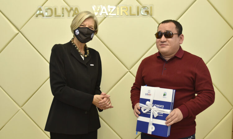 USAID SUPPORTS VISUALLY IMPAIRED CITIZENS OF UZBEKISTAN