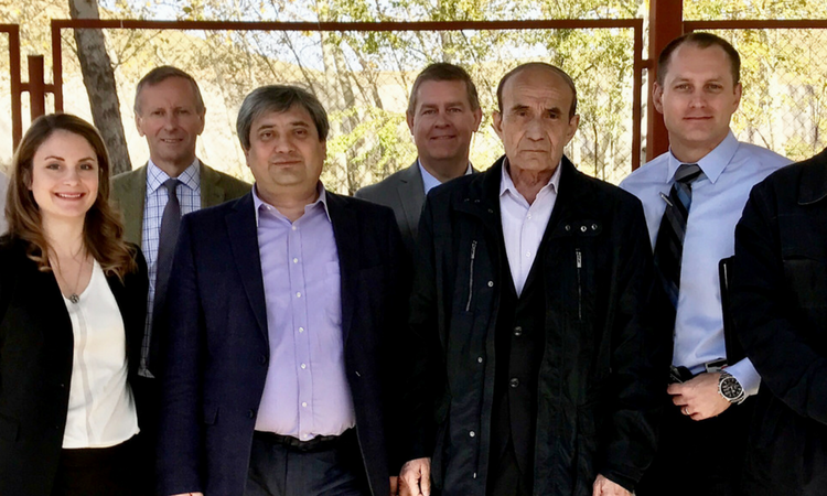 International Team Completes Security Enhancements to Uzbekistan's National Radiological Waste Disposal Site