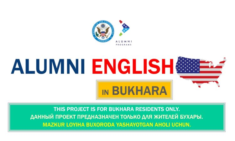 Alumni English x Bukhara- NEW POSTER