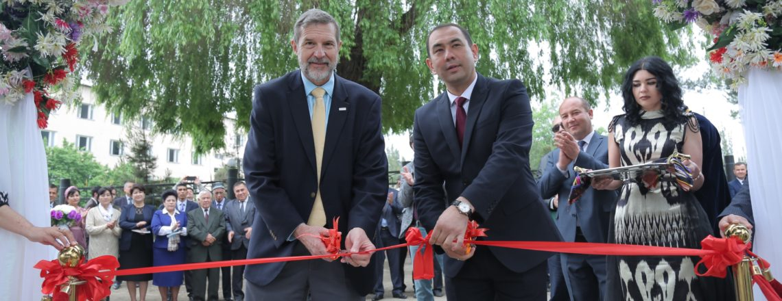 Hands-on Agricultural Research Site Opens in Andijan