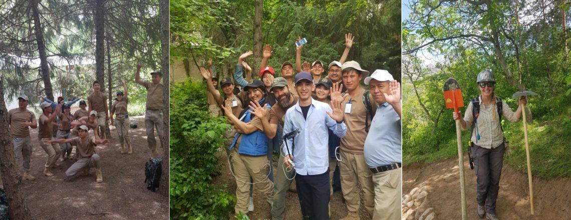 Uzbek Media Cover U.S. Forest Service Project in Sukok Reserve