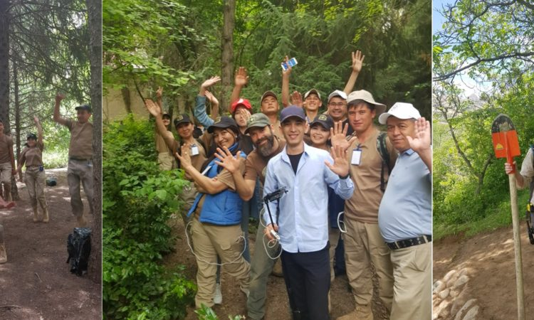 Uzbek Media Cover U.S. Forest Service Project in Sukok Reserve