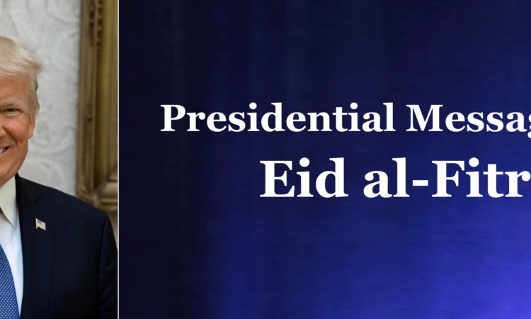 Presidential Message on Eid al-Fitr