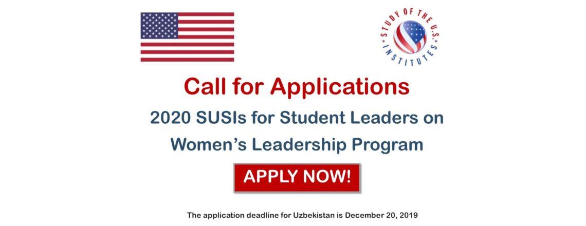 Study of the U.S. Institutes (SUSIs)