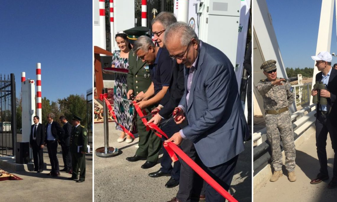 Installation of Radiation Detection Equipment Promotes Safe and Secure Borders