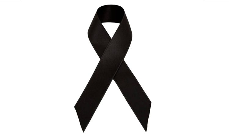 A black ribbon