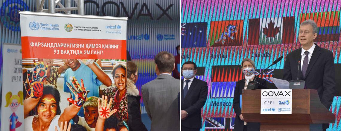 США поздравляют Узбекистан с доставкой вакцины против COVID-19