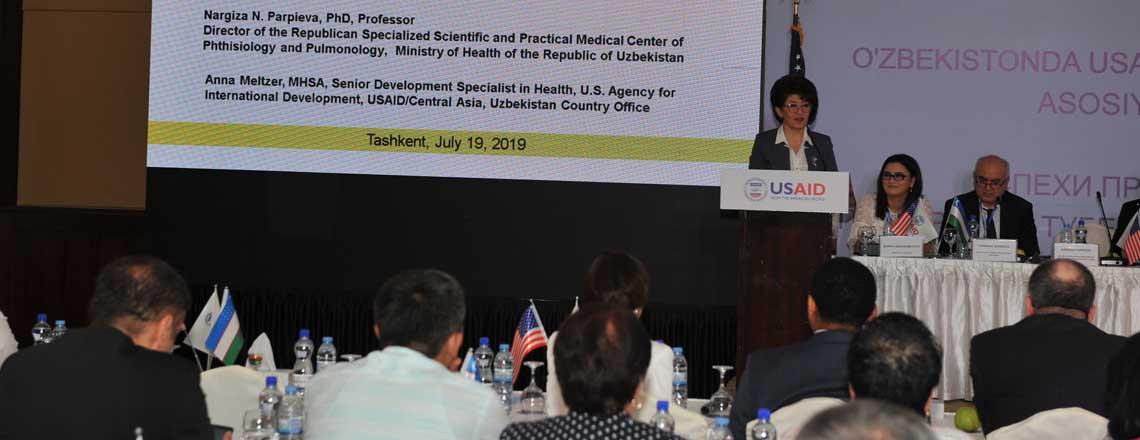 Посол США Розенблюм отметил тесное сотрудничество в сфере борьбы с туберкулезом