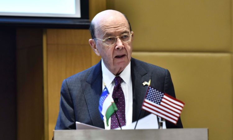 Secretary of Commerce Wilbur Ross