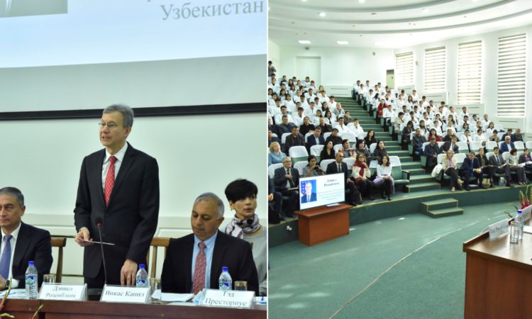 Center for Disease Control Signs MOU with Tashkent Medical Academy