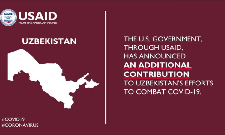 The United States Announces Additional Funds for Uzbekistan's Fight Against COVID-19