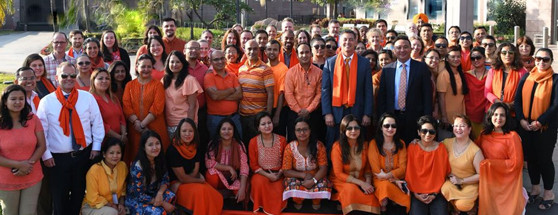 The US Mission in Nepal marks the '16 Days of Activism against GBV' campaign.