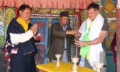 Inaugurates Dzong Monastery Restoration in Mustang