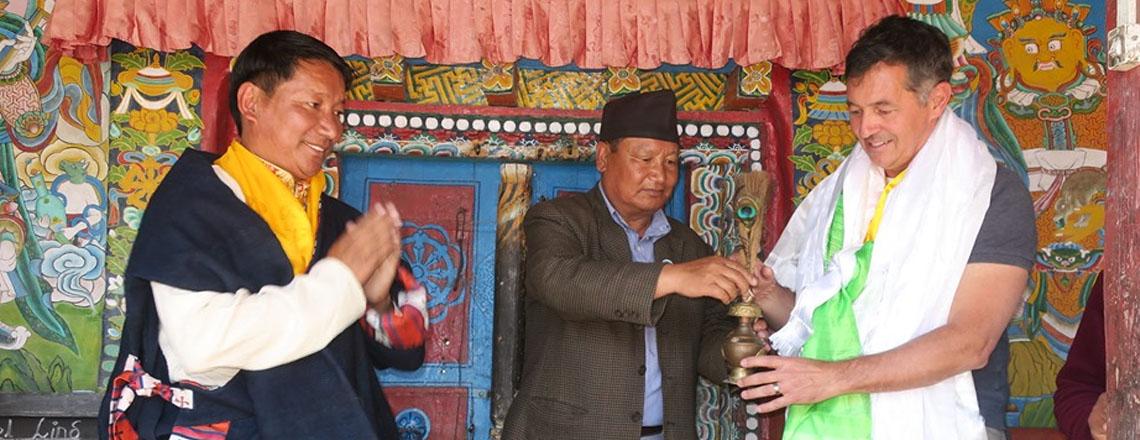 U.S. Embassy Inaugurates Dzong Monastery Restoration in Mustang