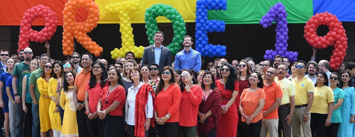 Ambassador Berry and the U.S. Mission in Nepal celebrate #PrideMonth throughout June