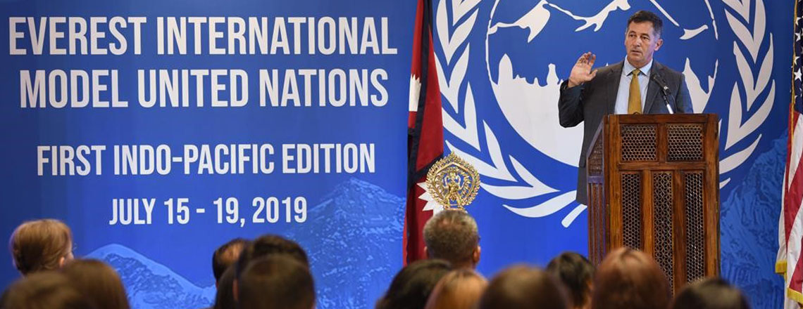U.S. Embassy Hosts Annual Regional Model United Nations Conference